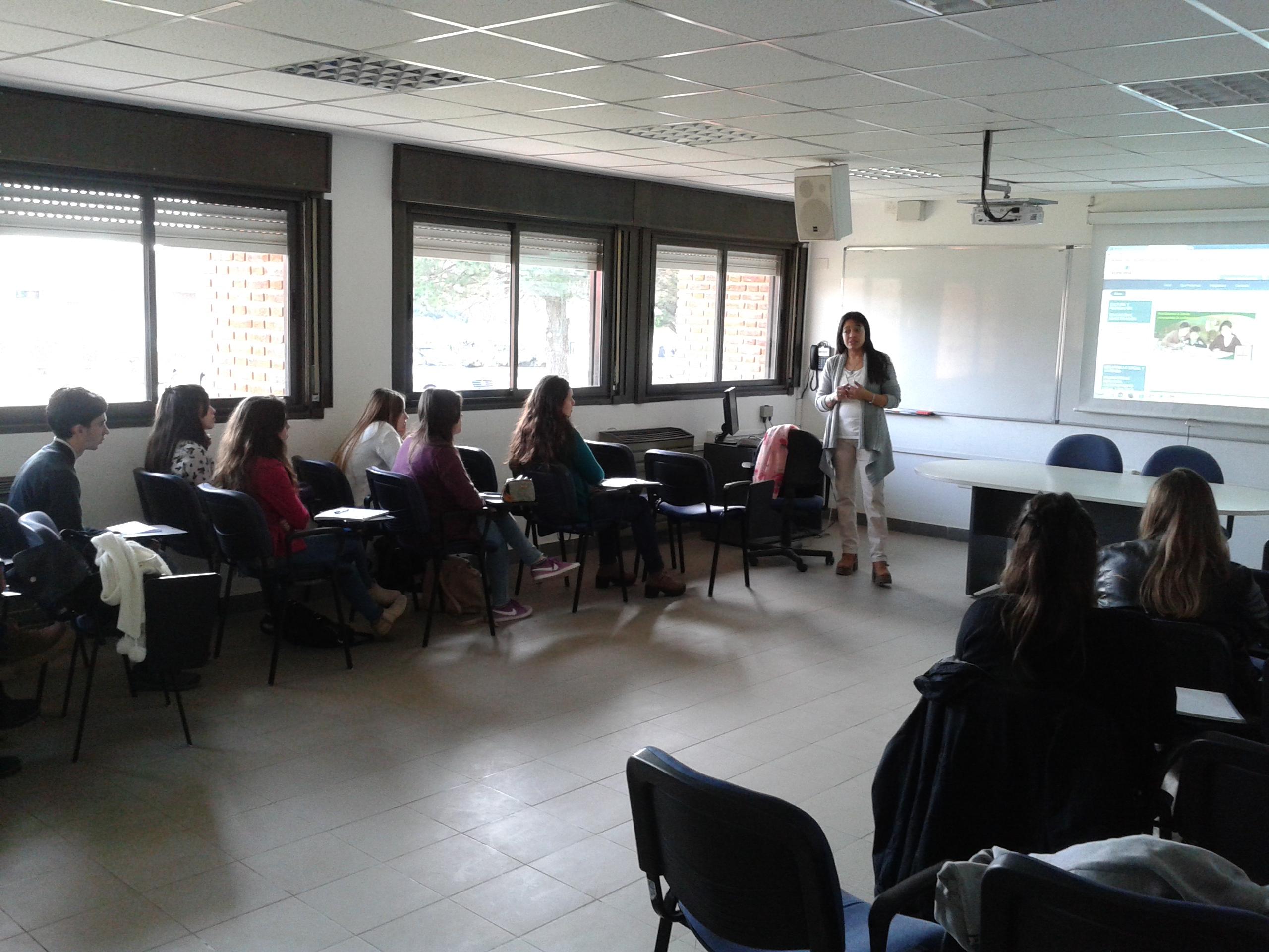 Capacitación y encuentro en Facultad de Ciencias Económicas