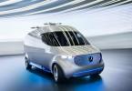 Mercedes-Benz Vision Van – Exterior;
