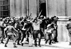 rumbos. foto dictadura
